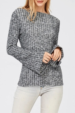 Jolie Brushed Top W/bell-Sleeves - Product List Image