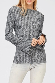 Jolie Brushed Top W/bell-Sleeves - Product Mini Image