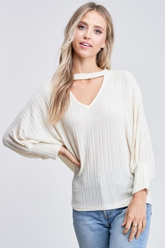 Shoptiques Product: Chocker Knit Top