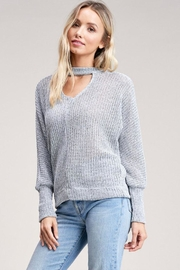 Jolie Choker Front Sweater - Product Mini Image