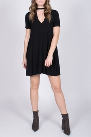 Jolie Choker Swing Dress - Front full body