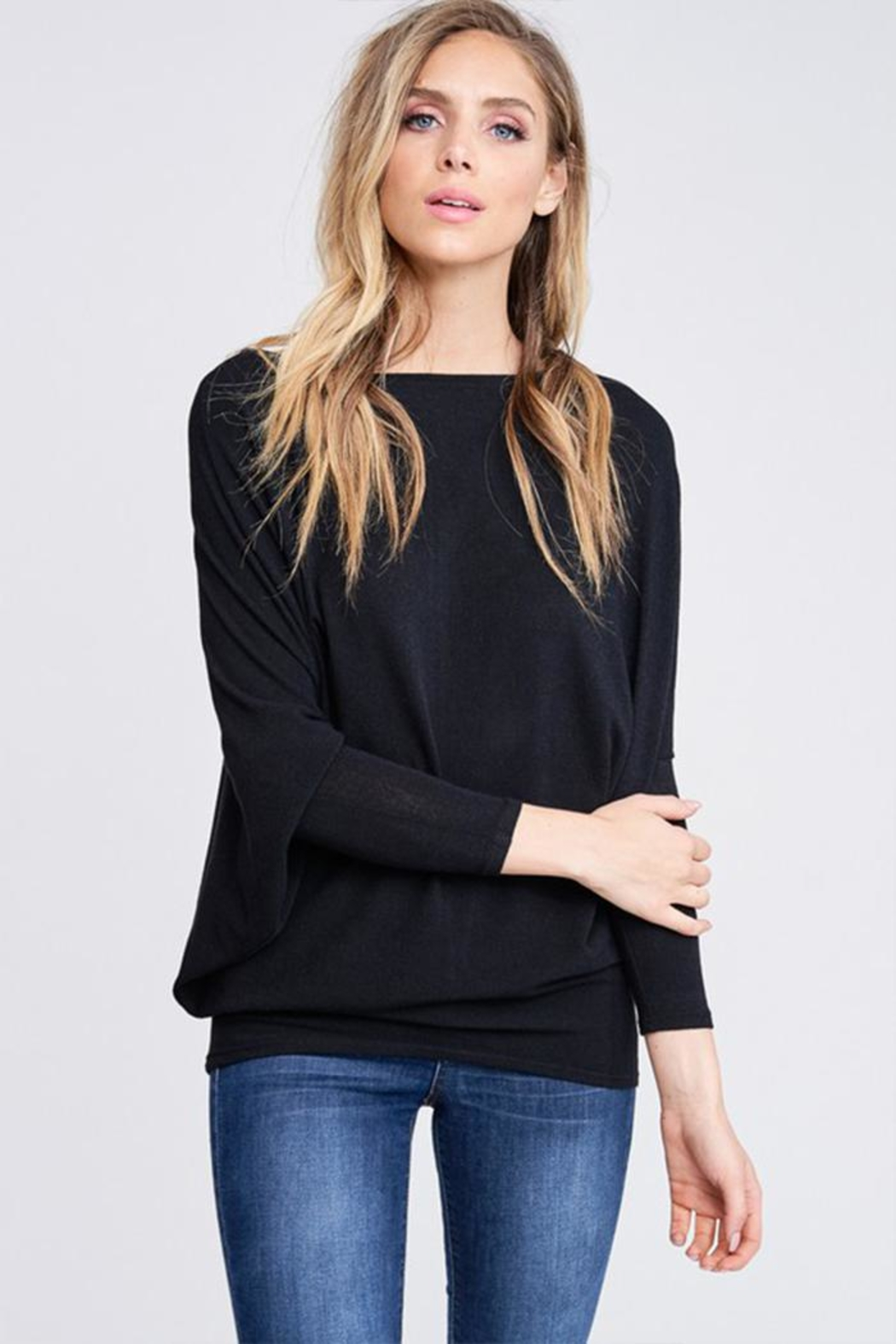 Jolie Comfy Dolman Sweater - Main Image
