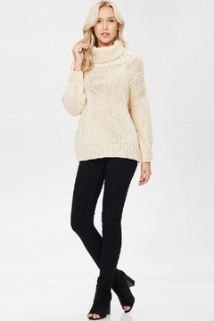 Shoptiques Product: Cream Chunky Sweater