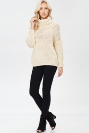 Jolie Cream Chunky Sweater - Product Mini Image