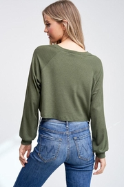 Jolie Cropped Thermal Top - Other