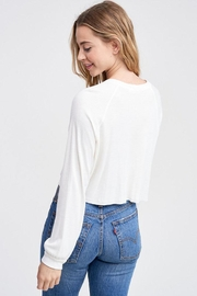 Jolie Cropped Thermal Top - Side cropped