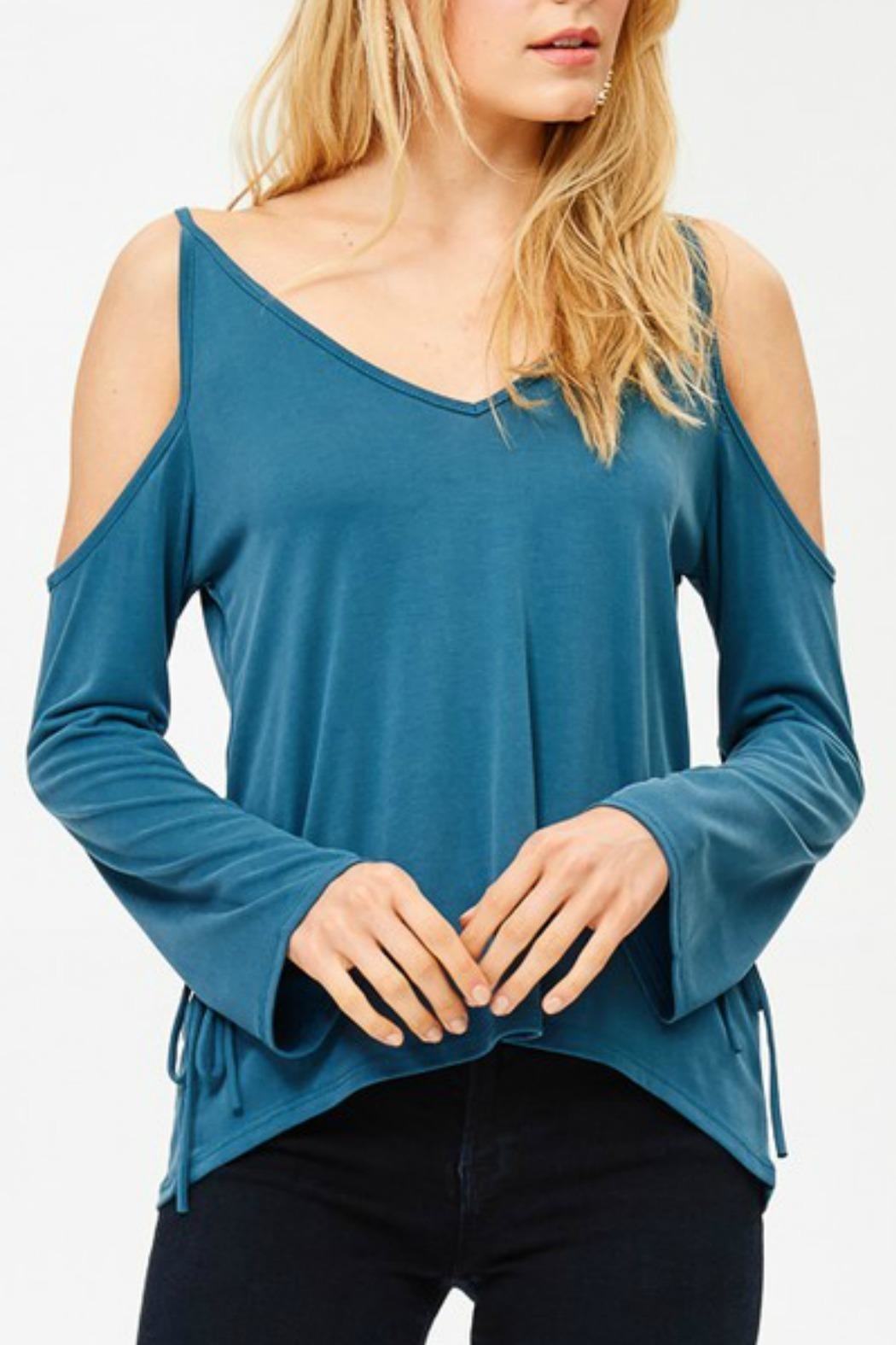 Jolie Cross Back Top - Front Cropped Image