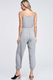 Jolie Crossover Knit Jumpsuit - Side cropped