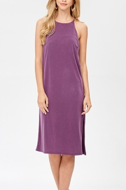 Jolie Cupro Slip Dress - Product Mini Image