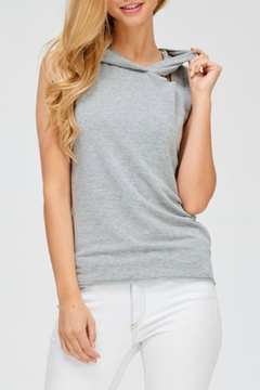 Jolie Destroyed Sleeveless Sweatshirt - Product List Image
