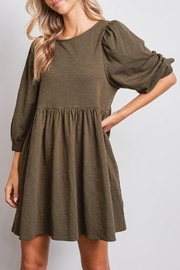 Jolie Elisa Dress (Available In Rust & Olive) - Front full body