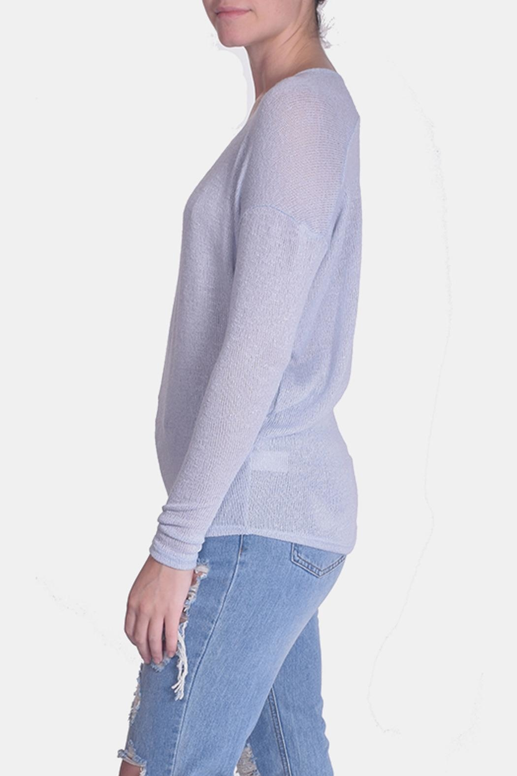 Jolie Essential Lightweight Sweater - Side Cropped Image