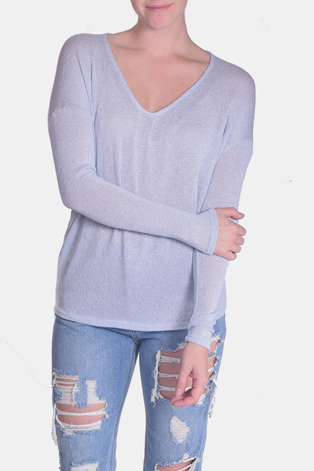 Jolie Essential Lightweight Sweater - Front Full Image