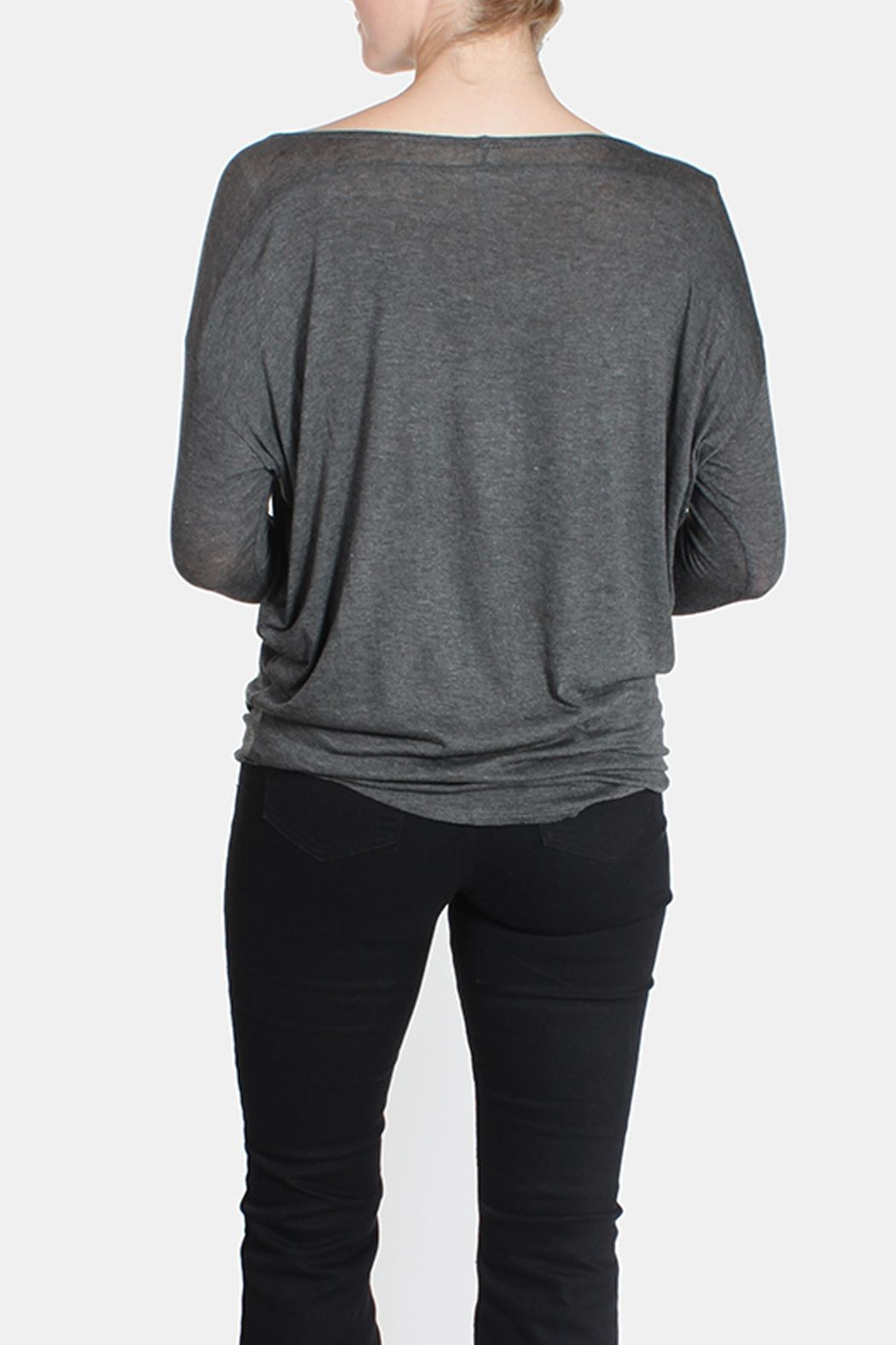 Jolie Essential Lightweight Sweater - Back Cropped Image