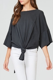 Jolie Front Knot Top - Front cropped