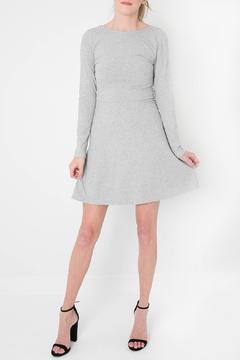 Jolie Grey Lace-Up Dress - Product List Image