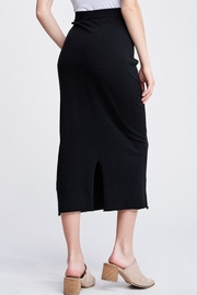 Jolie Knit Midi Skirt - Side cropped