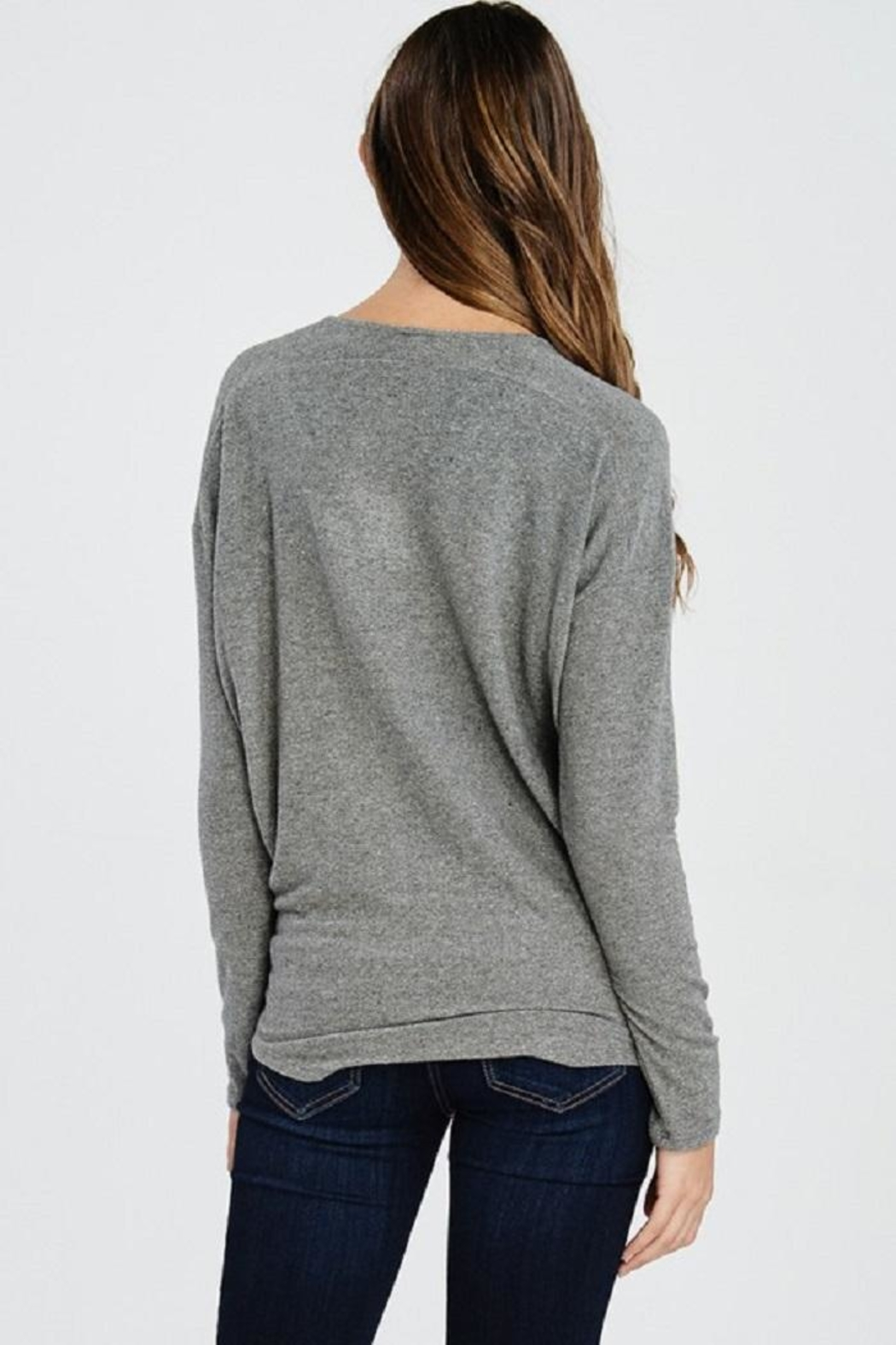 Jolie Knot Front Knit - Side Cropped Image