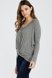 Jolie Knot Front Knit - Front full body