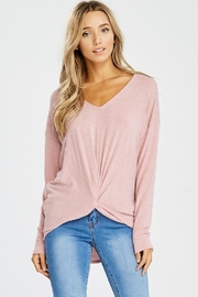 Jolie Knot Front Knit - Front cropped