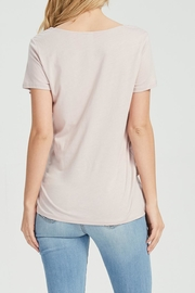 Jolie Knot Front Tee - Back cropped