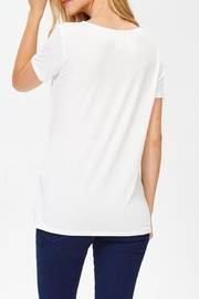 Jolie Knot Front Tee - Side cropped