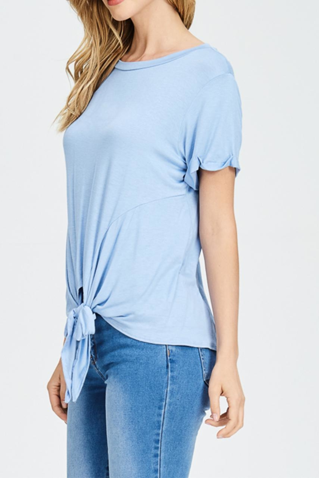 Jolie Knot Front Top - Front Cropped Image
