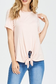 Jolie Knot Front Top - Product Mini Image