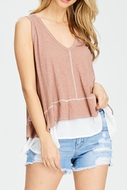 Jolie Layered Tank Top - Product Mini Image