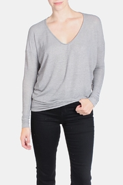 Jolie Lightweight V Neck Sweater - Product Mini Image