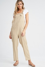 Jolie Linen Overalls - Product Mini Image
