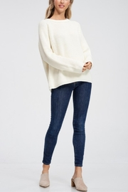 Jolie Long Sleeve Ribbed Sweater - Other