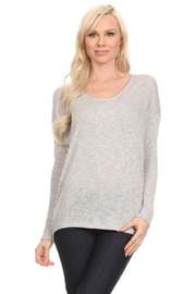 Jolie Long Sleeve Top - Front cropped