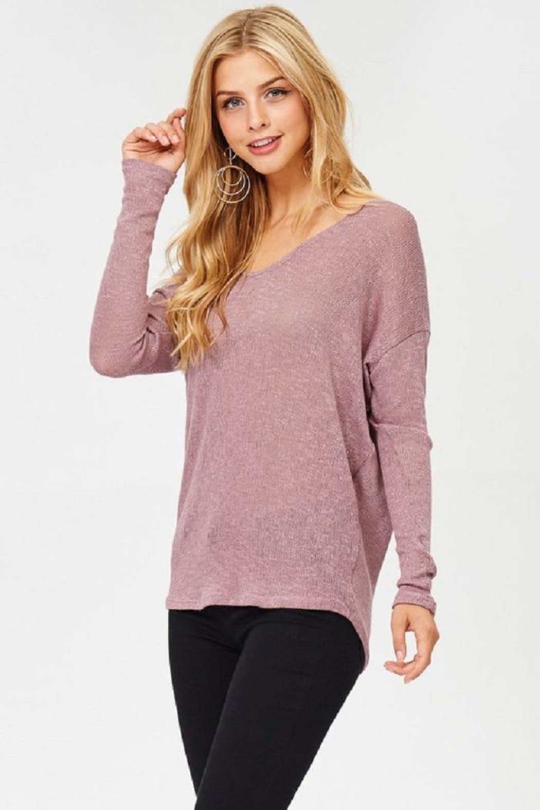 Jolie Long Sleeve Top - Front Full Image