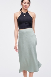 Jolie Midi Slip Skirt - Product Mini Image