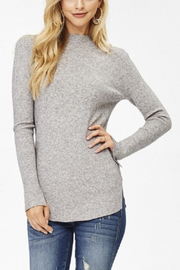 Jolie Mock Neck Sweater - Product Mini Image
