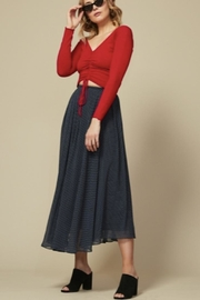 Goldie Jolie Navy Skirt - Front cropped