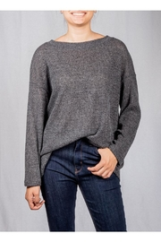 Jolie Open-Back Knit Sweater - Product Mini Image