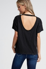 Jolie Open Back Tee - Product Mini Image