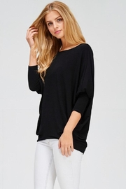 Jolie Oversized Knit Top - Product Mini Image