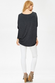 Jolie Oversized Knit Top - Side cropped