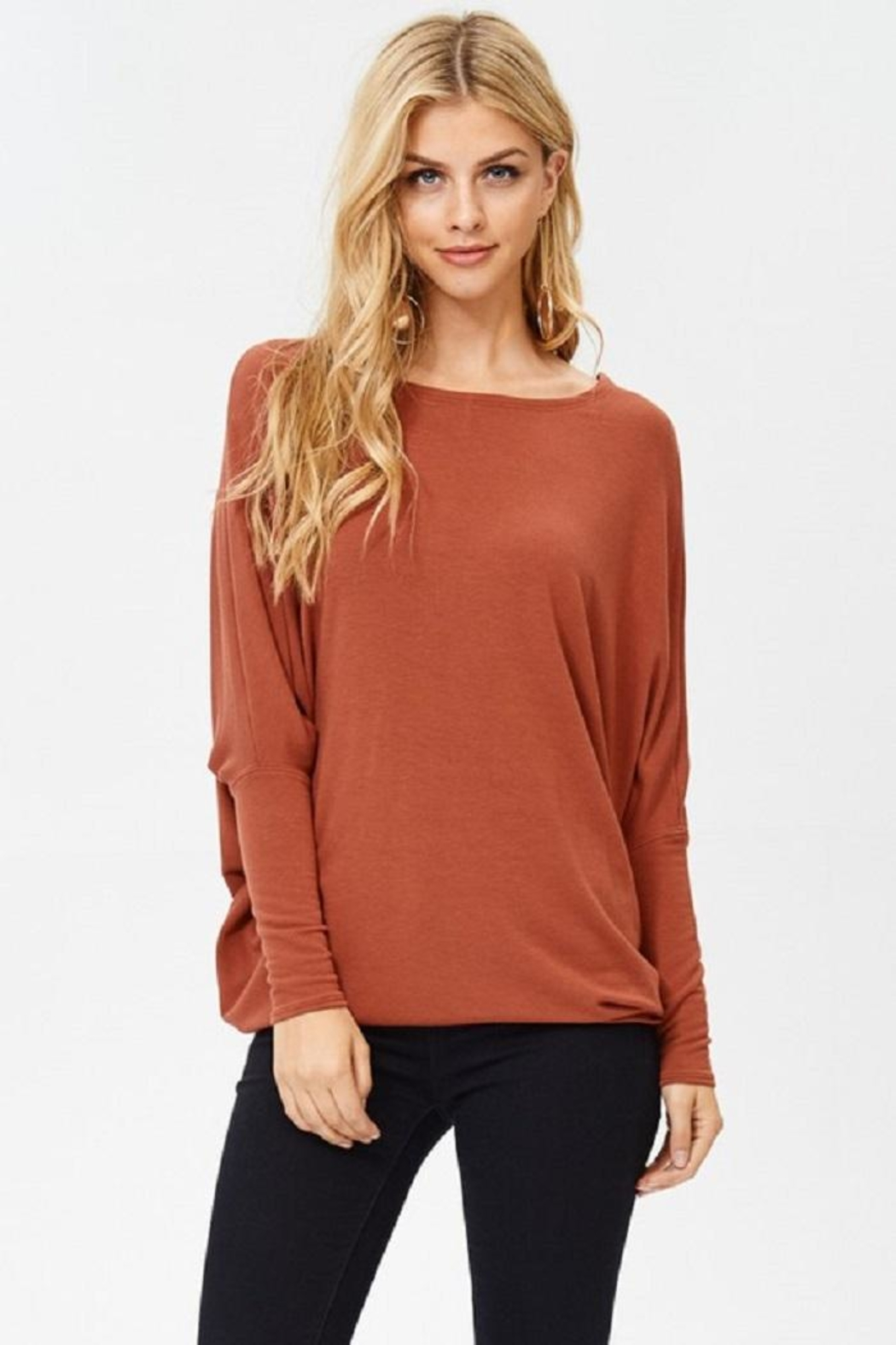 Jolie Oversized Knit Top - Main Image