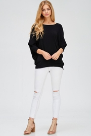 Jolie Oversized Solid Top - Product Mini Image
