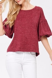 Jolie Puff Sleeve Blouse - Product Mini Image