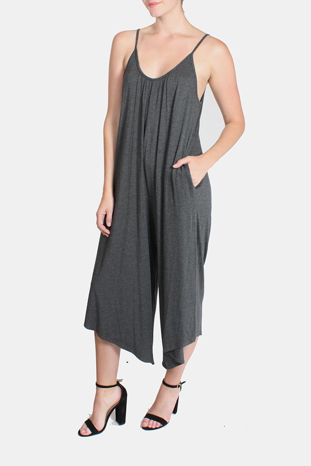 Jolie Relaxed Days Jumpsuit From Los Angeles By Goldies Shoptiques Clothing Dakota Long Dress Front Cropped Image
