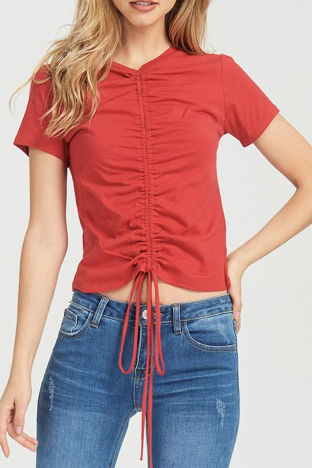 Jolie Rouched Tee - Main Image