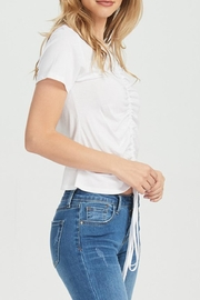 Jolie Rouched Tee - Front full body