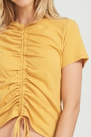 Jolie Rouched Tee - Side cropped