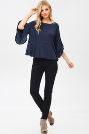 Jolie Ruffle Sleeve Top - Front full body