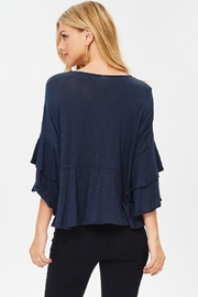 Jolie Ruffle Sleeve Top - Side cropped